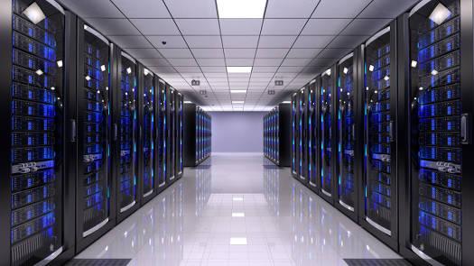 Bitcoin Serverraum
