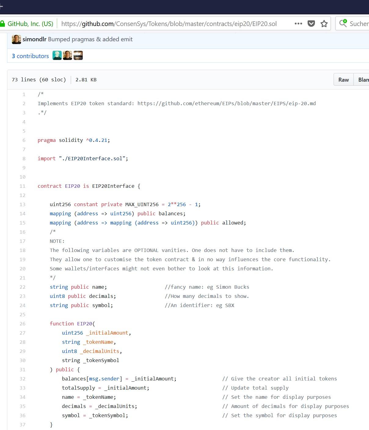 consensys code