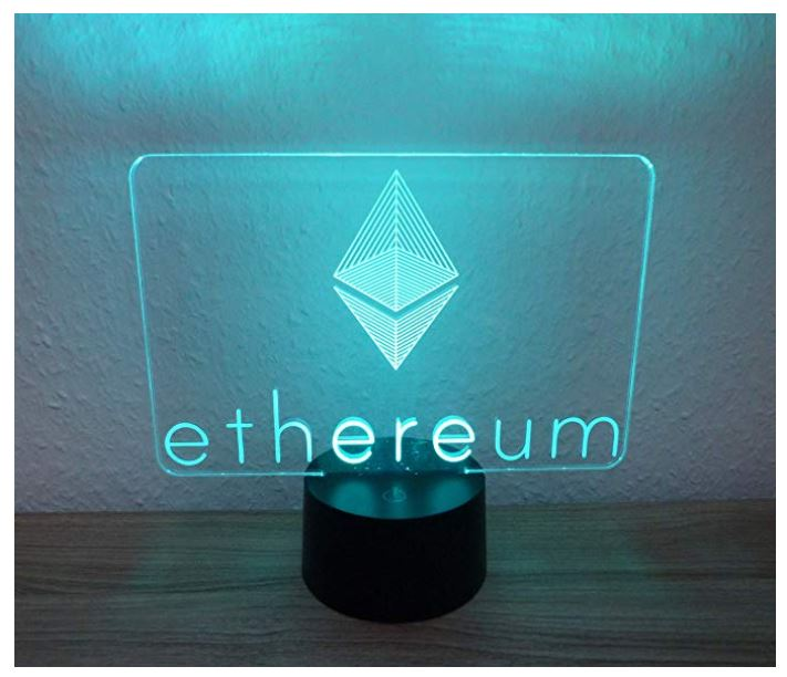 Ethereum Multicolor LED Lampe