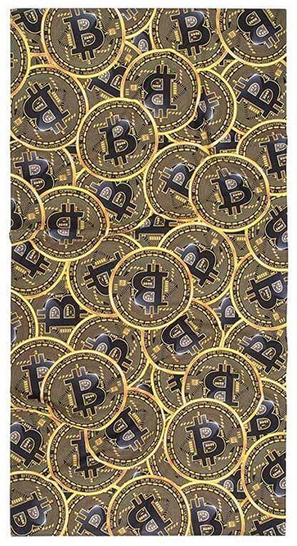 Bitcoin Badehandtuch