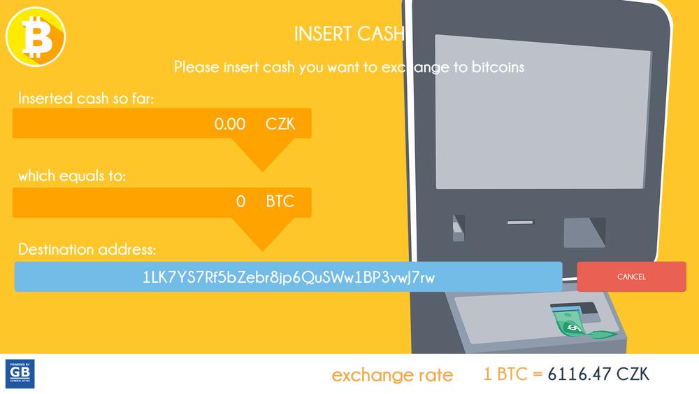 insert cash