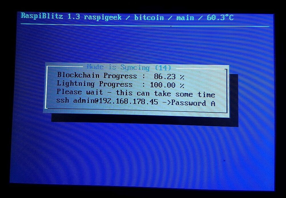 blockchain sync