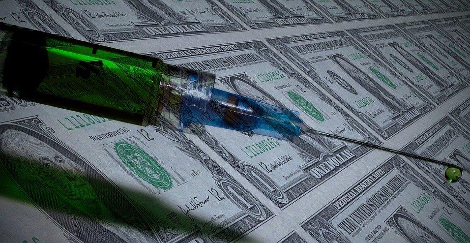 Geldspritze