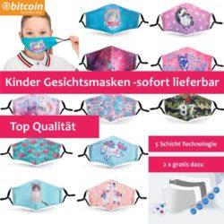 Kinder Gesichtsmasken