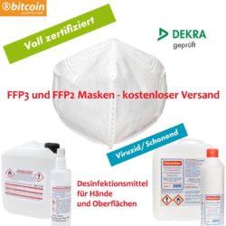 FFP3 FFP2 Atemschutz Masken
